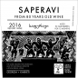 Preview: SAPERAVI from 80 years old wine
