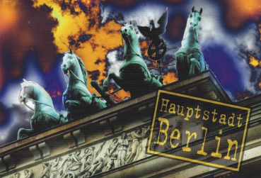 "Postkarte ""The capital Berlin. II"""
