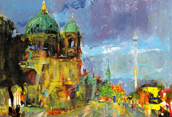 "Postcard ""Berlin Cathedral"""