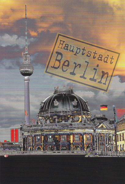 "Postcard  ""The capital Berlin. I"""